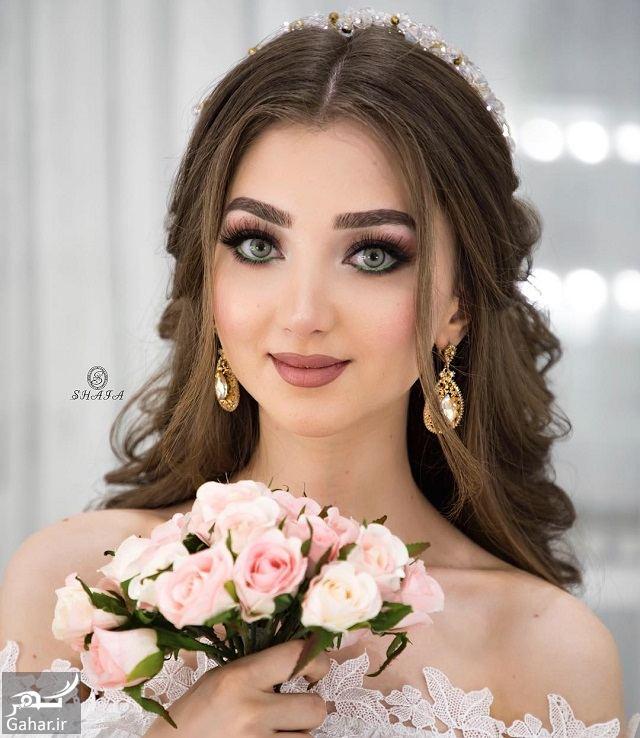 478405 Gahar ir جدیدترین مدل های زیبای شینیون موی بلند عروس