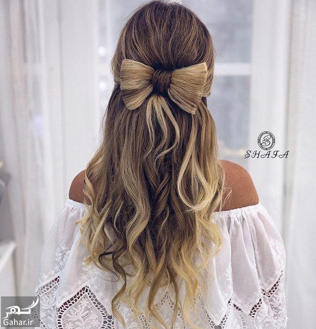 848670 Gahar ir جدیدترین مدل های زیبای شینیون موی بلند عروس