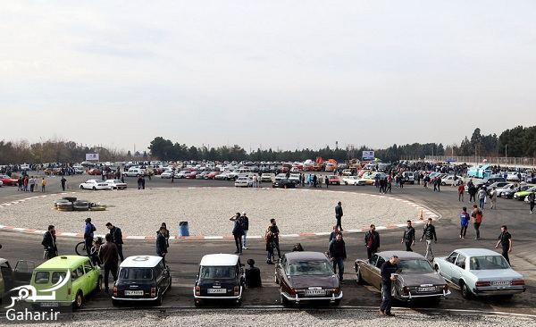 دورهمی زیبا و دیدنی خودروهای کلاسیک در تهران / تصاویر, جدید 1400 -گهر