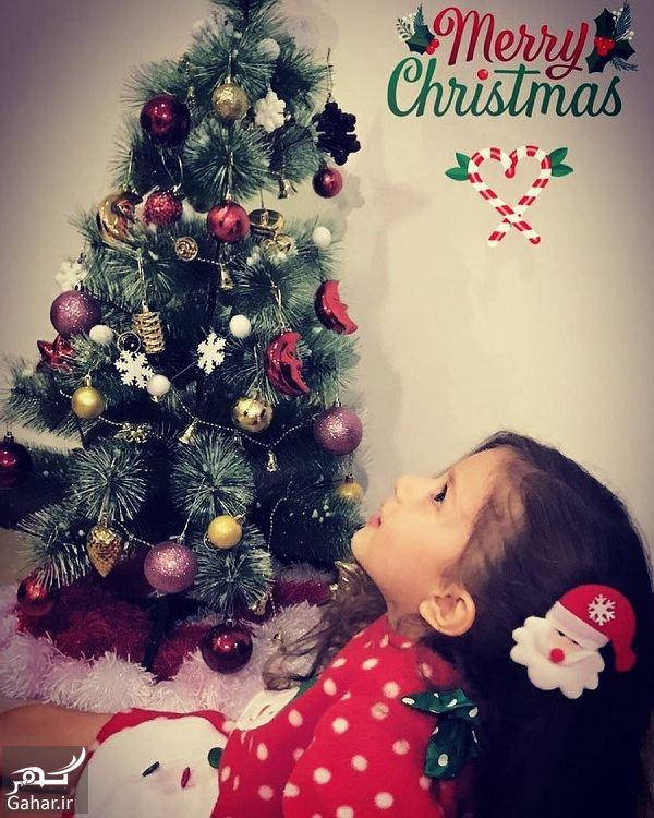 تیپ کریسمس دختر شاهرخ استخری / عکس, جدید 1400 -گهر