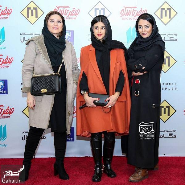استایل آزاده صمدی و سحر دولتشاهی در اکران مردمی صفر تا سکو / تصاویر, جدید 1400 -گهر