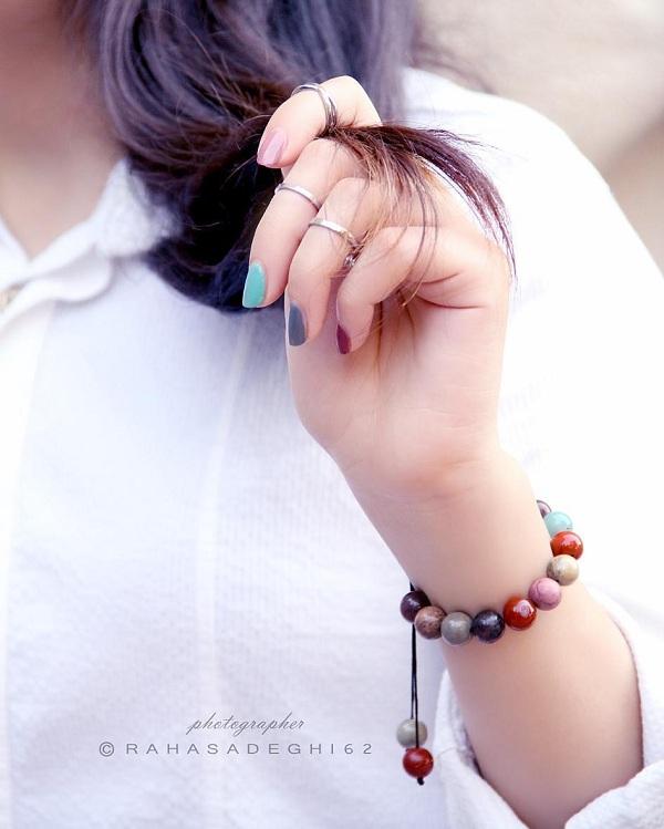 عکس پروفایل شاد دخترونه ، عکس شاد برای پروفایل, جدید 1400 -گهر