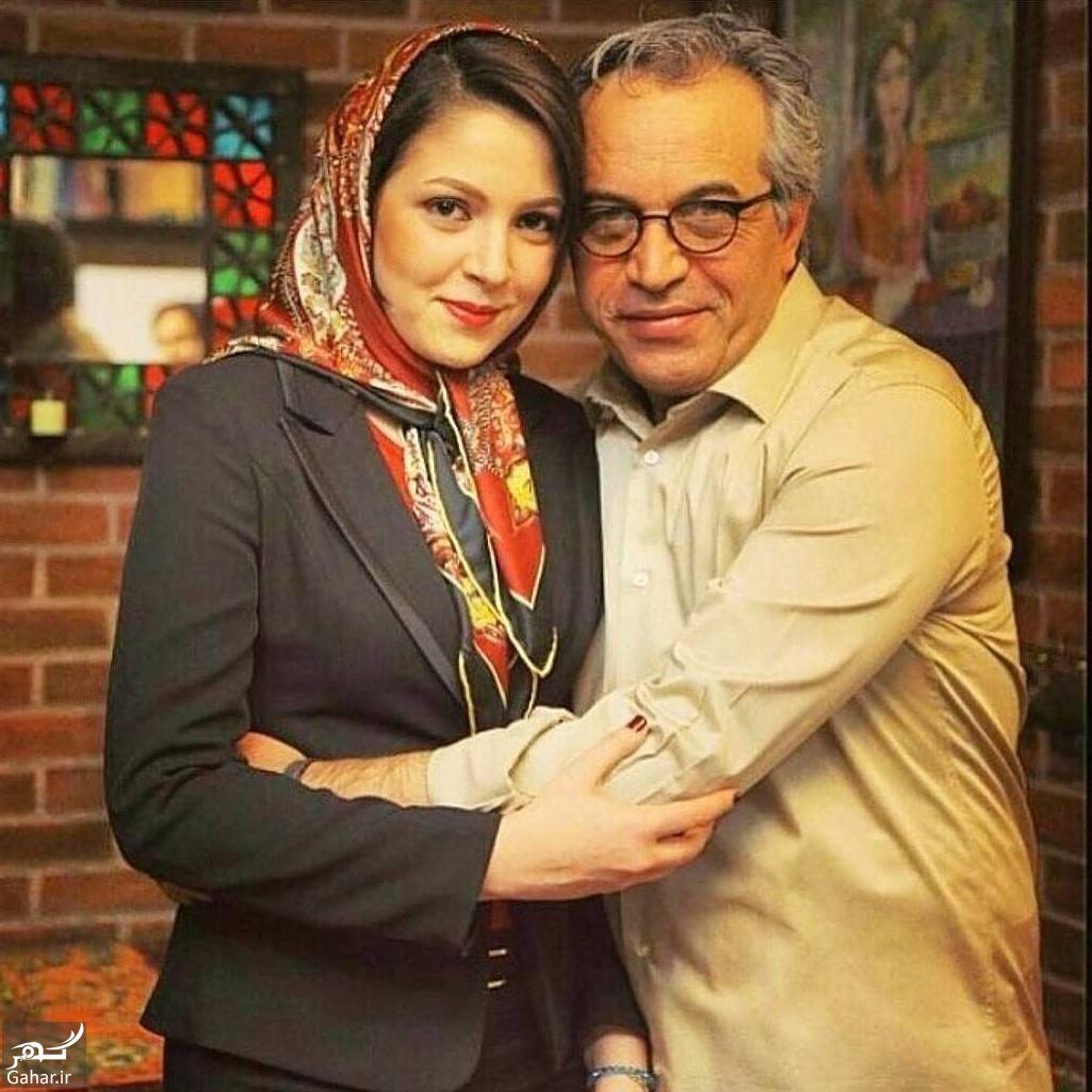 عکس کارگردان معروف در کنار دخترش, جدید 1400 -گهر
