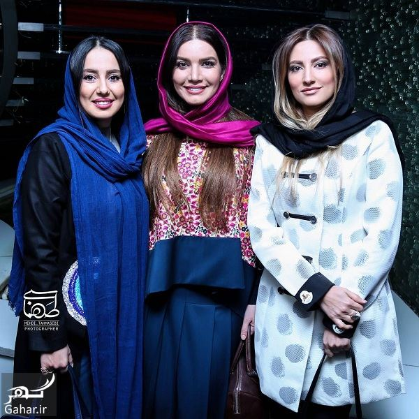 635451 Gahar ir عکسهای زیبای سمیرا حسینی در اکران خصوصی آینه بغل