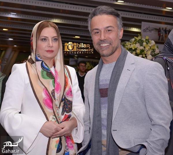 عکس جدید دانیال حکیمی و همسرش در اکران خصوصی حریم شخصی, جدید 1400 -گهر