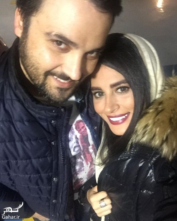 عکس جدید مهدی سلوکی و همسرش در آغوش هم, جدید 1400 -گهر