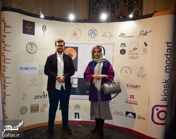 098679 Gahar ir تیپ بازیگران در مراسم بزرگترین رویداد طراحان برتر لباس / تصاویر