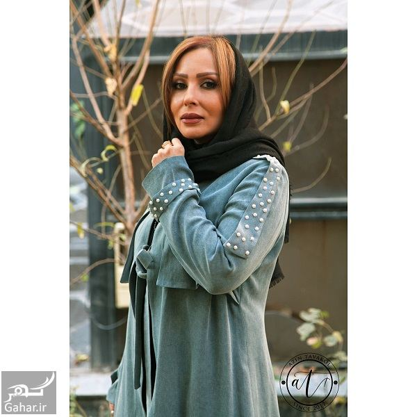 279871 Gahar ir عکسهای تبلیغاتی پرستو صالحی برای یک برند مانتو