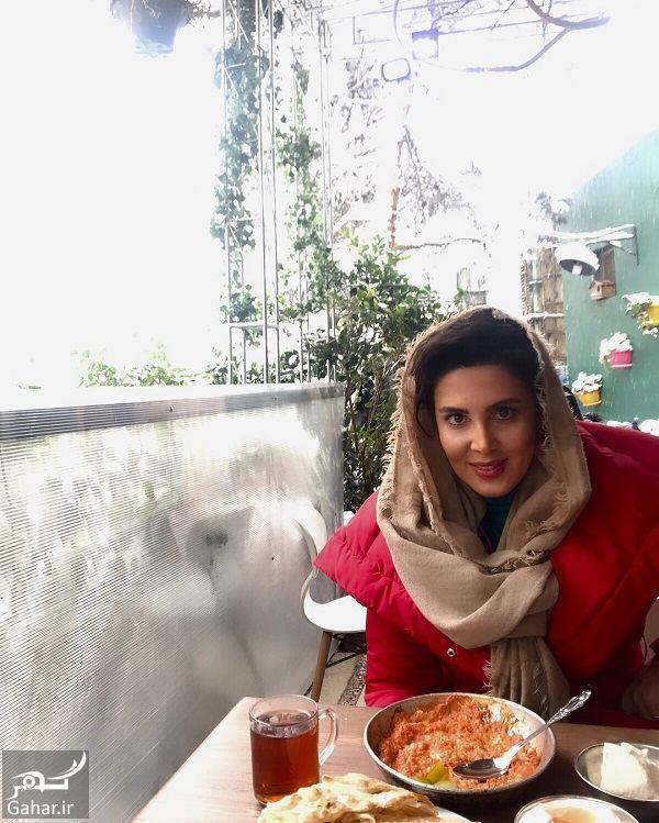 عکسهای زیبای لیلا بلوکات در روز برفی, جدید 1400 -گهر