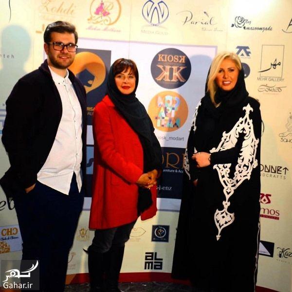 601443 Gahar ir تیپ بازیگران در مراسم بزرگترین رویداد طراحان برتر لباس / تصاویر