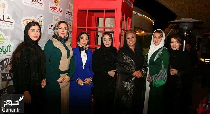 700340 Gahar ir عکسهای جذاب بازیگران در افتتاحیه یک مزون لباس