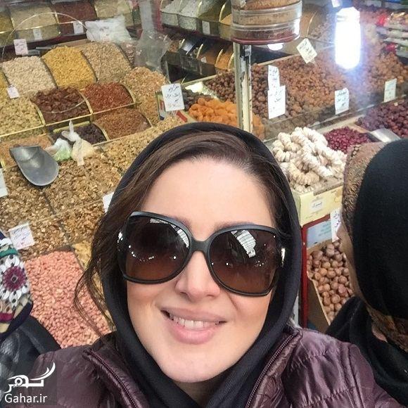 بازارگردی بازیگر خانم در بازار تجریش / عکس, جدید 1400 -گهر