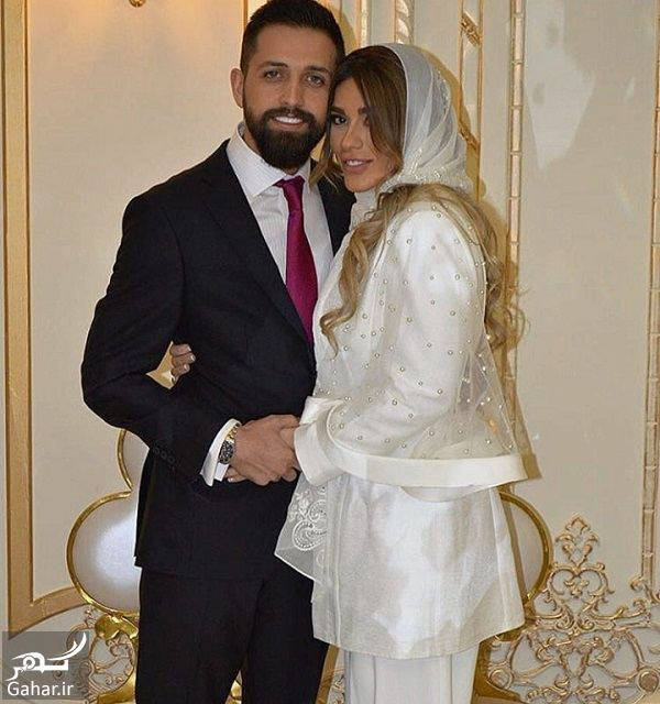 184907 Gahar ir عکسهای مراسم عقد محسن افشانی و همسرش / 3 عکس