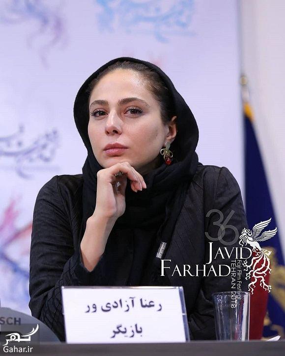عکسهای رعنا آزادی ور در جشنواره فیلم فجر ۹۶, جدید 1400 -گهر