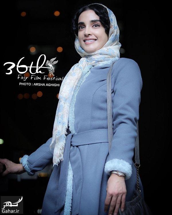 تیپ الهه حصاری در روز هفتم جشنواره فیلم فجر ۹۶ / ۴ عکس, جدید 1400 -گهر