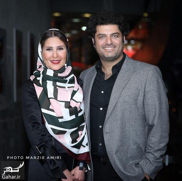 424792 Gahar ir عکسهای سام درخشانی و همسرش در اکران خصوصی خجالت نکش