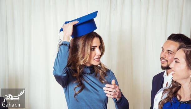 034418 Gahar ir عکسهای مراسم رسمی فارغ التحصیلی دختر پادشاه اردن