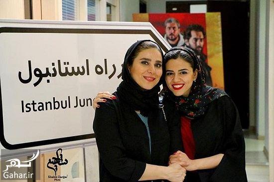 038085 Gahar ir عکسهای ماهور الوند در اکران فیلم چهار راه استانبول