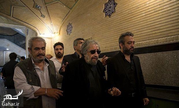 065146 Gahar ir عکسهای بازیگران و هنرمندان در مراسم ختم ناصر ملک مطیعی/ 24 عکس