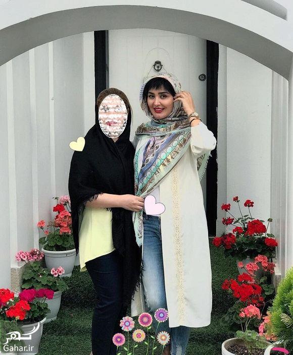 071777 Gahar ir مریم معصومی موهایش را بخشید! / عکس