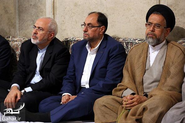 088136 Gahar ir عکسهای دیدنی از دیدار رهبری با سران و فعالان سیاسی فرهنگی