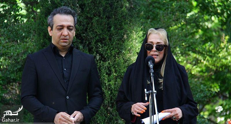 126543 Gahar ir عکسهای مراسم خاکسپاری ناصر چشم آذر با حضور هنرمندان