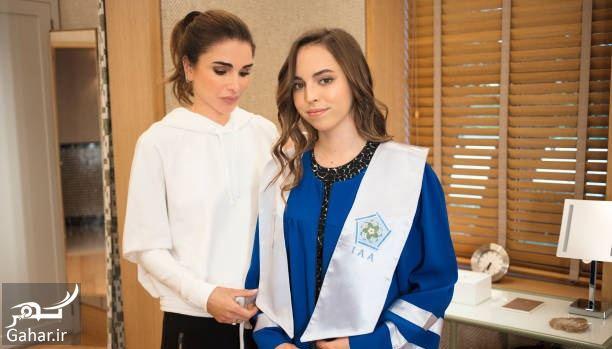 148653 Gahar ir عکسهای مراسم رسمی فارغ التحصیلی دختر پادشاه اردن