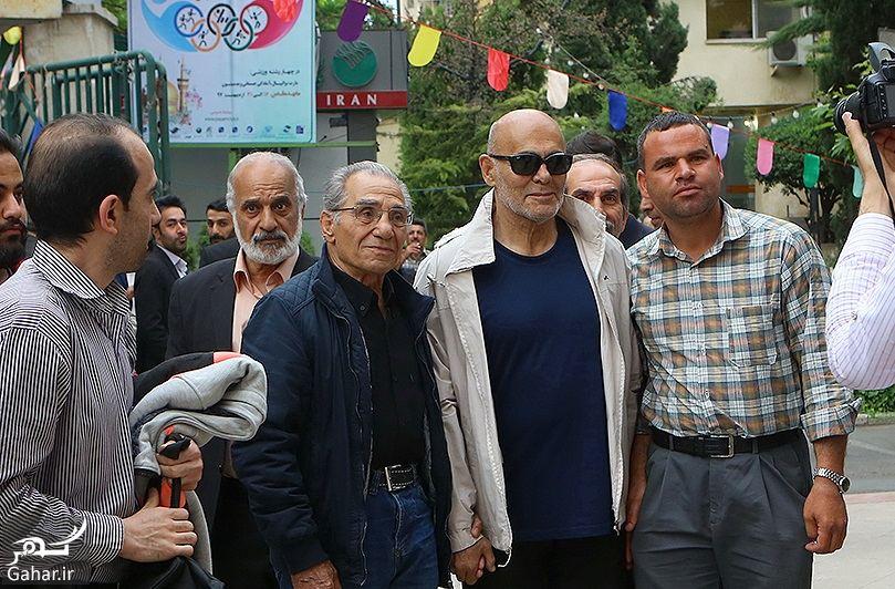 165260 Gahar ir عکسهای مراسم ختم ناصر چشم آذر با حضور هنرمندان