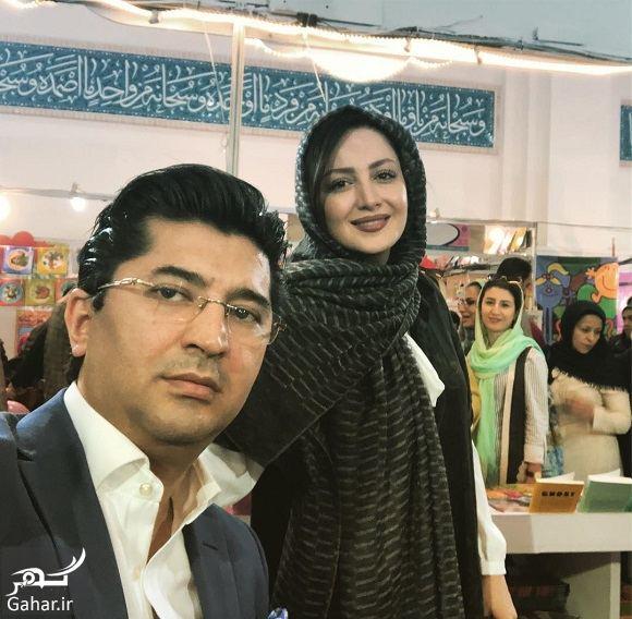 184923 Gahar ir عکس شیلا خداداد و همسرش در نمایشگاه کتاب تهران
