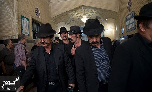 213555 Gahar ir عکسهای بازیگران و هنرمندان در مراسم ختم ناصر ملک مطیعی/ 24 عکس