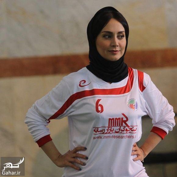 252760 Gahar ir عکسهای مریم خدارحمی در تیم فوتسال هنرمندان