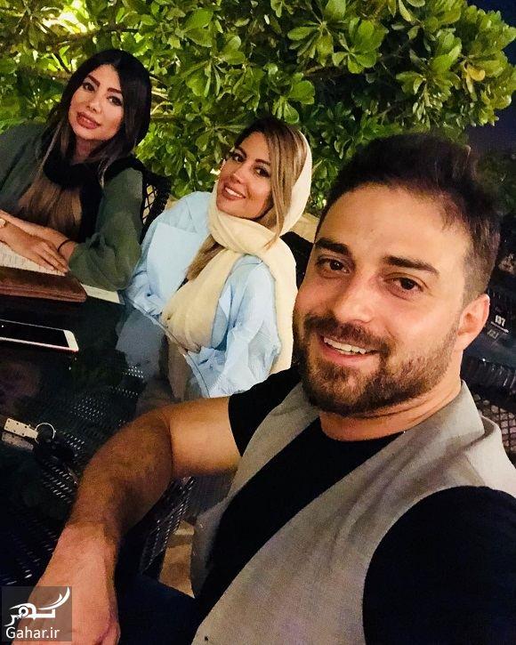 280917 Gahar ir دورهمی بابک جهانبخش و همسر و دوست همسرش