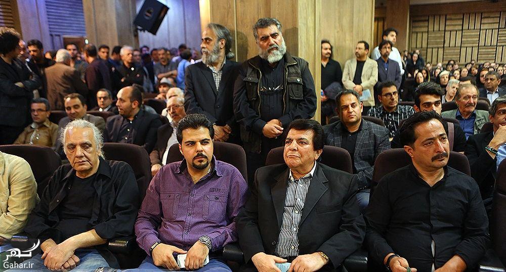 283053 Gahar ir عکسهای مراسم ختم ناصر چشم آذر با حضور هنرمندان