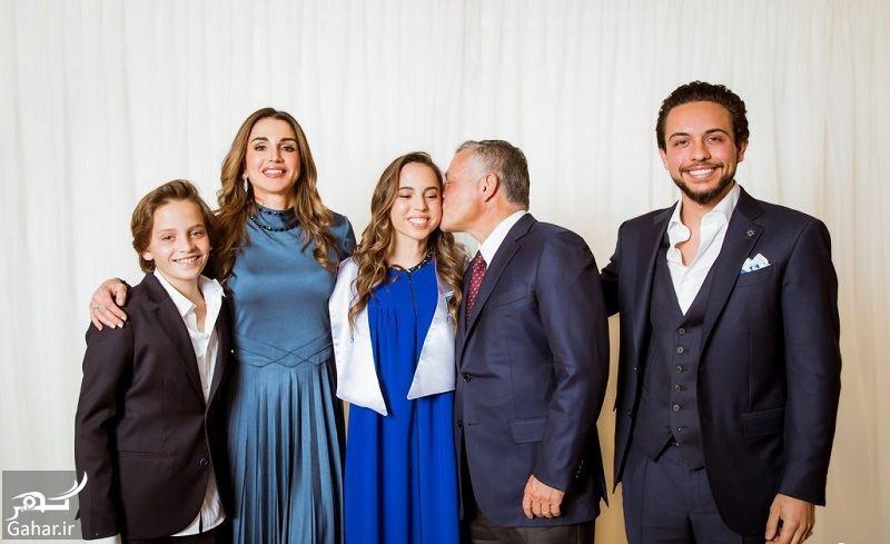 307772 Gahar ir عکسهای مراسم رسمی فارغ التحصیلی دختر پادشاه اردن