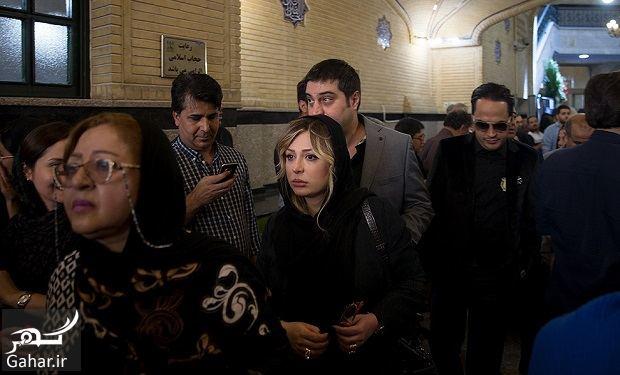 348928 Gahar ir عکسهای بازیگران و هنرمندان در مراسم ختم ناصر ملک مطیعی/ 24 عکس