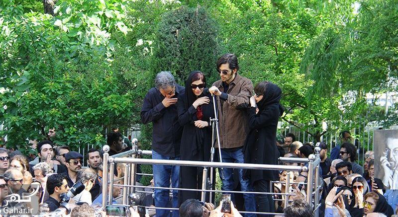 396161 Gahar ir عکسهای مراسم خاکسپاری ناصر چشم آذر با حضور هنرمندان