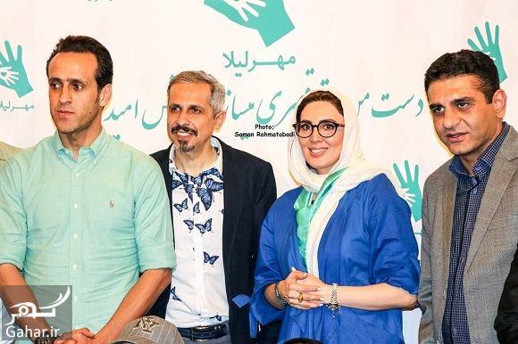 414766 Gahar ir حضور هنرمندان و بازیگران در مراسم خیریه مهر لیلا رمضان 97