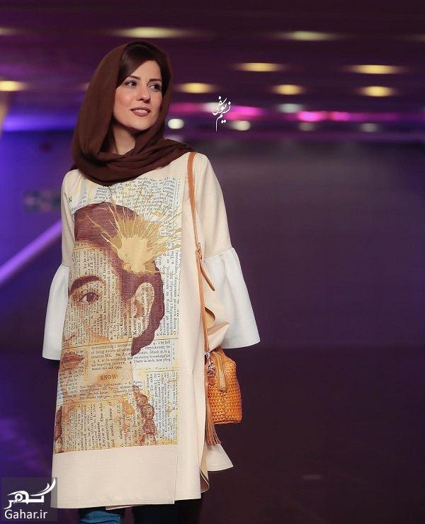 استایل خاص سارا بهرامی در افتتاحیه ساخت ایران ۲ / ۶ عکس, جدید 1400 -گهر