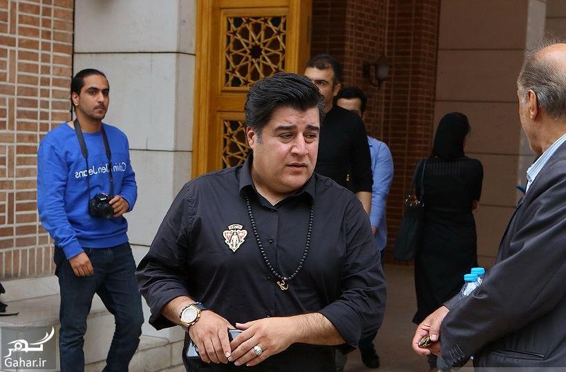 513395 Gahar ir عکسهای مراسم ختم ناصر چشم آذر با حضور هنرمندان