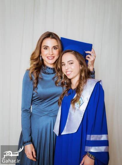 519186 Gahar ir عکسهای مراسم رسمی فارغ التحصیلی دختر پادشاه اردن