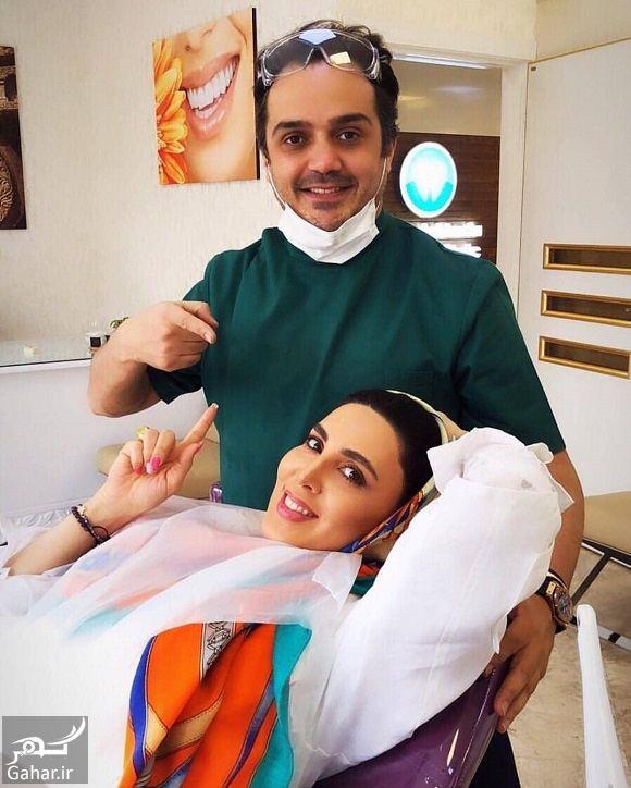 569390 Gahar ir عکس لیلا بلوکات و دکتر دندانپزشک