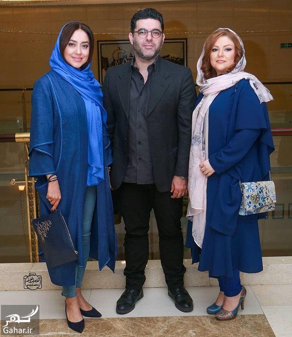 569614 Gahar ir بهاره کیان افشار در کنار مصطفی کیایی و همسرش در اکران چهار راه استانبول