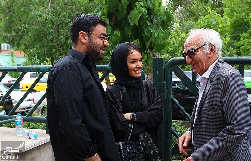 572651 Gahar ir عکسهای مراسم ختم ناصر چشم آذر با حضور هنرمندان
