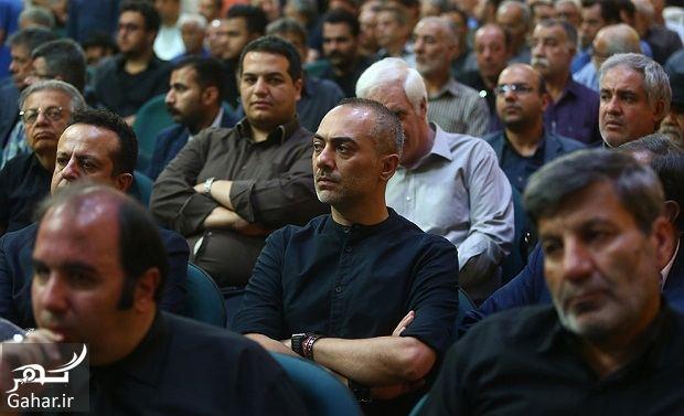 590984 Gahar ir عکسهای بازیگران و هنرمندان در مراسم ختم ناصر ملک مطیعی/ 24 عکس
