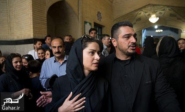 591780 Gahar ir عکسهای بازیگران و هنرمندان در مراسم ختم ناصر ملک مطیعی/ 24 عکس