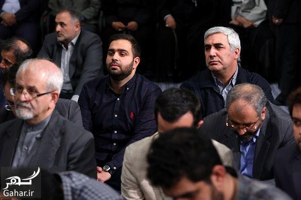 597906 Gahar ir عکسهای دیدنی از دیدار رهبری با سران و فعالان سیاسی فرهنگی