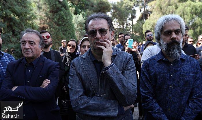 604291 Gahar ir عکسهای مراسم خاکسپاری ناصر چشم آذر با حضور هنرمندان