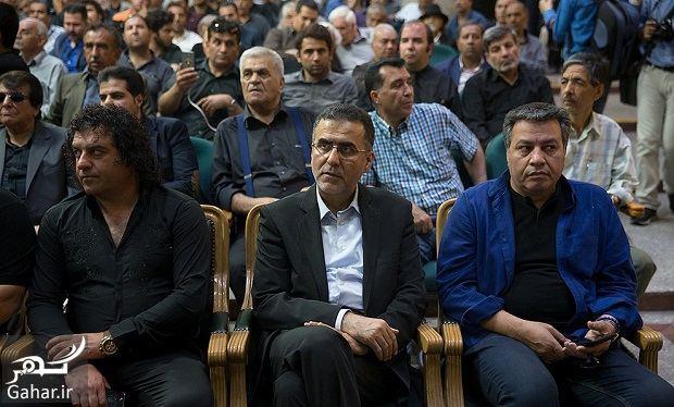 611435 Gahar ir عکسهای بازیگران و هنرمندان در مراسم ختم ناصر ملک مطیعی/ 24 عکس