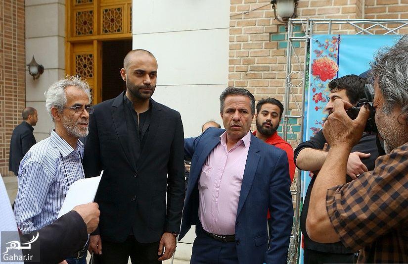 683716 Gahar ir عکسهای مراسم ختم ناصر چشم آذر با حضور هنرمندان