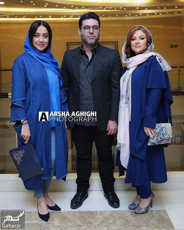688025 Gahar ir بهاره کیان افشار در کنار مصطفی کیایی و همسرش در اکران چهار راه استانبول